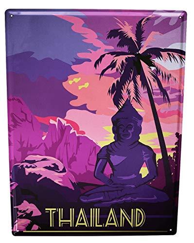 LEotiE SINCE 2004 Plaque en Métal Métallique Poster Mural tin Sign 40x30 cm Ale Aventurier Thaïlande