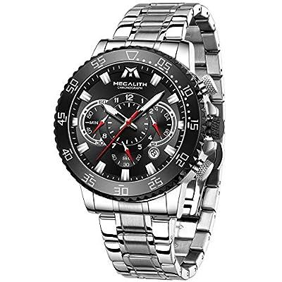 MEGALITH Mens Watch Chronograph Men's Wrist...