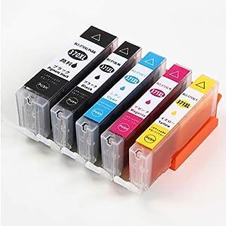 キヤノン 用 エコッテ 互換 BCI-371XL+370XL/5MP 5色 プリンターインク インクカートリッジ セット 大容量
