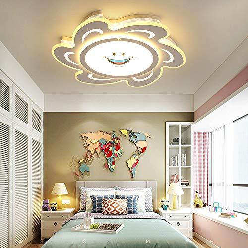 5151BuyWorld lamp plafondlamp Simplicity Moderne visie kinderen acryl bescherming kinderkamer plafondlamp 90 260 V LED hoogwaardige kwaliteit