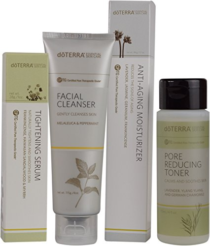 doTERRA - Skin Care System with Anti-Aging Moisturizer - Essential Skin Care Collection