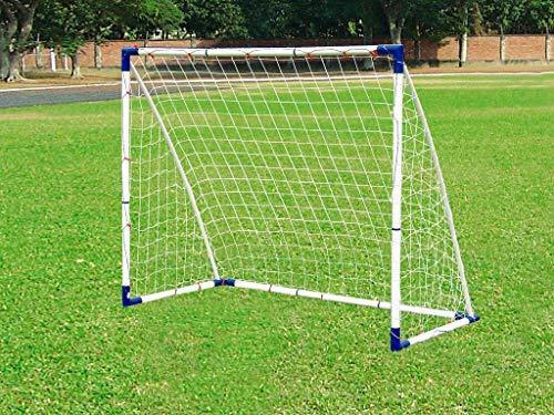 Outdoor Play | Garten Fußballtor für Kinder und Erwachsene Vario 2X 120x90 cm oder 1x 183x152 cm, aus Kunststoff in Top Qualität