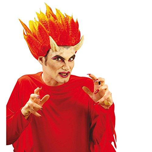 NET TOYS Longues Cornes de Diable en Latex Diable Cornes Couleur Chair Cornes de démon Cornes de Diable Effets spéciaux Halloween