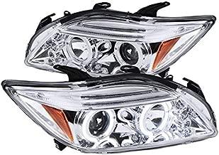 Spec-D Tuning 2LHP-TC05-TM Chrome Projector Headlight (Halo Led)