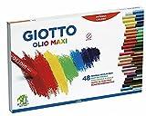 Gitzo 2932 00 - Olio pastelli a Olio, 11 Millimetri, Caso Cartone, 48 Colori Assortiti