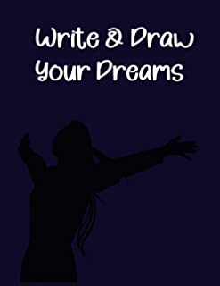 Write & Draw Your Dreams:: dream journal for women 100 page