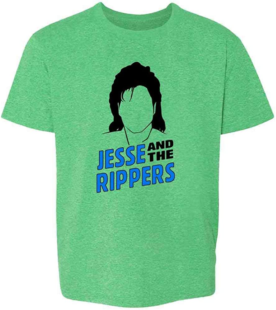 Pop Threads Jesse and The Rippers Band Retro Funny 90s Toddler Kids Girl Boy T-Shirt