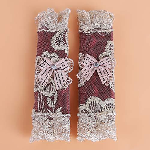 Iaywayii 1Pair Pastoral Stil Kühlschranktürständer Griffblenden Kühlschrank Griffblenden Dekorative Küchentürknauf Covers