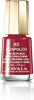Acapulco Minicolors of Mavala Nail Polish Enamel Women 5 ml.