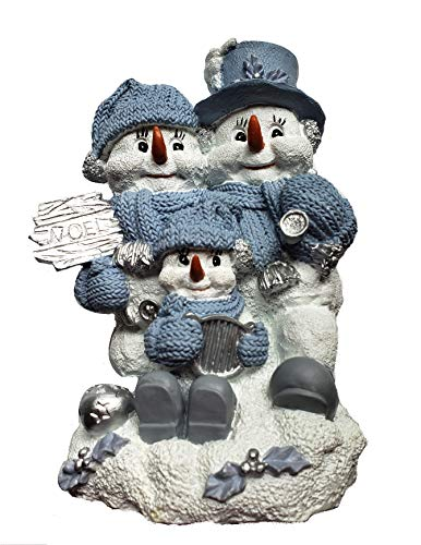 Snowbuddies Noel Trio Holiday Figurine 8'