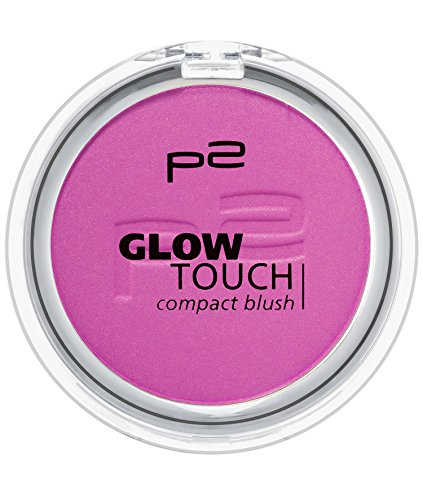 p2 cosmetics Glow Touch Compact Blush 060, 3er Pack (3 x 5 g)