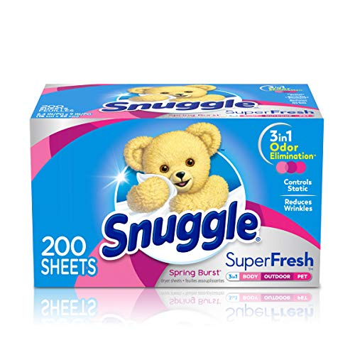Snuggle Plus SuperFresh Fabric Softener Dryer Sheets