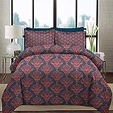 Juego de funda nórdica para ropa de cama Juegos de cama de lujo de hotel retro...