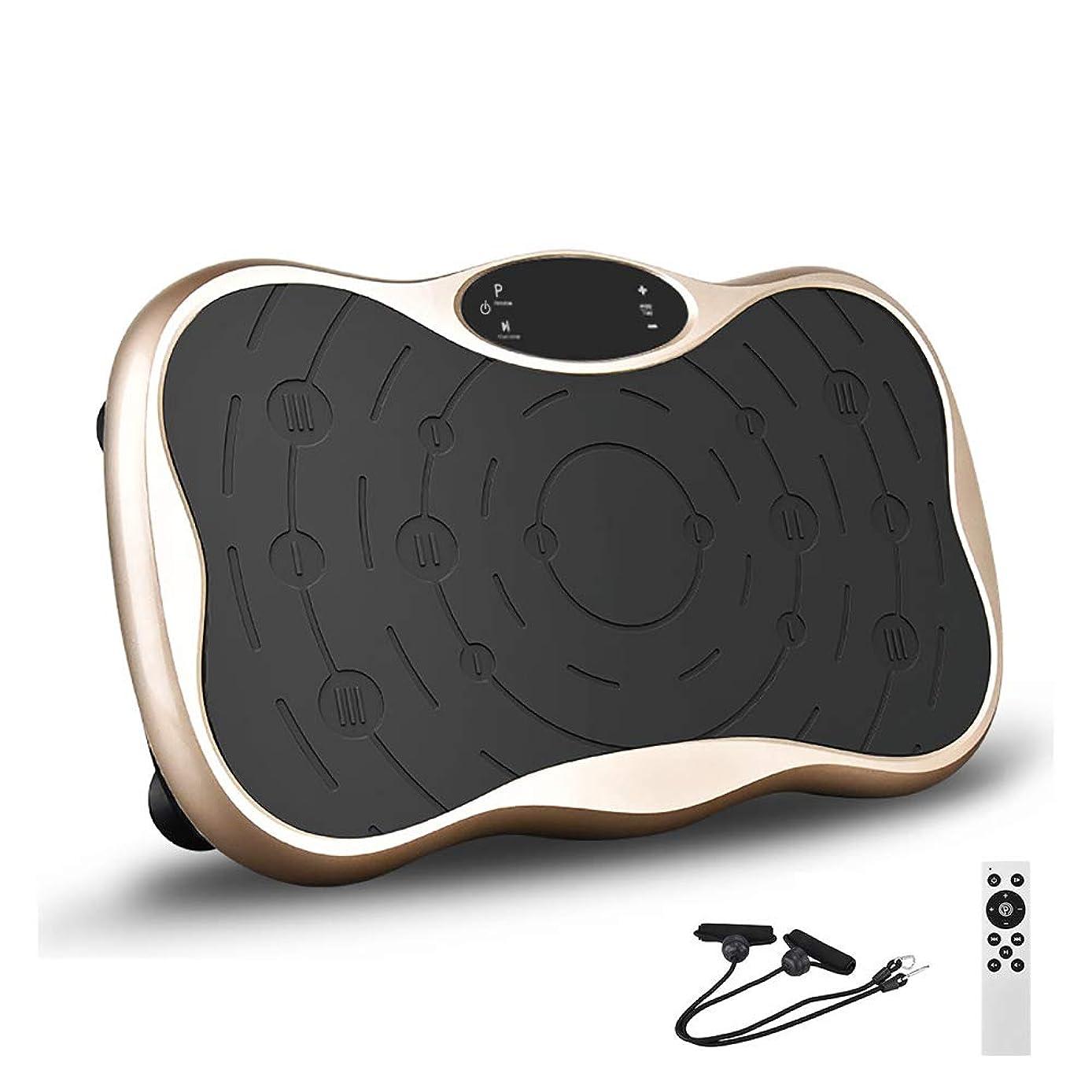印象的なアラーム国民PSE認証済 振動マシン フィットネスマシン 3D振動ステッパー バランスウェーブ 振動調節99段階 脂肪燃焼 全身振動 Bluetooth/USBジャック 音楽機能 プルコードが付