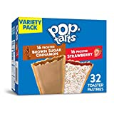 Pop-Tarts, Breakfast Toaster Pastries, Variety Pack, Proudly Baked In the USA, 54.1oz Box (1 Pack 32Count)