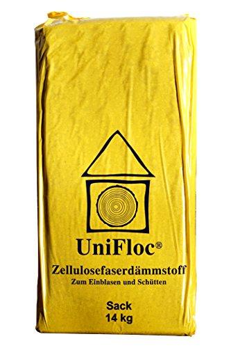 Unifloc Zellulosedämmung als Fußbodenschüttung 21 Sack 296 kg