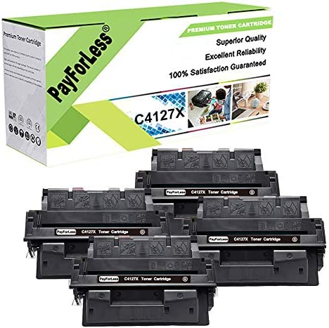 PayForLess 4PK for HP 27X C4127X Toner for HP Laserjet 4000 4000N 4000SE 4000T 4050 4050N 4050TN product image
