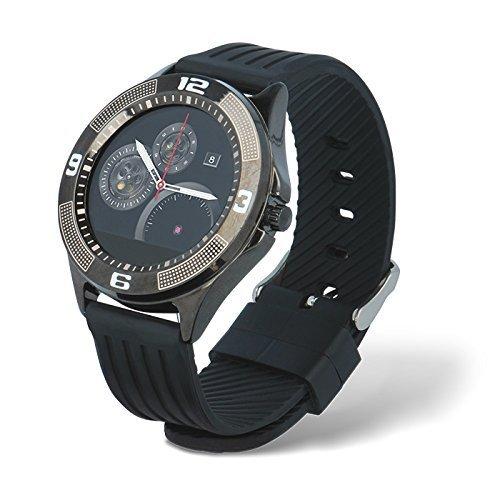 Forever Smartwatch Orologio da Polso Elegante Touchscreen Bluetooth 4.0 Telefono per Android iOS Samsung iPhone Sony HTC Huawei LG Compatibile Waterproof Cardiofrequenzimetro Contapassi