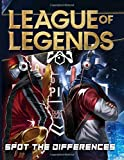 League Of Legends Spot The Difference: Enchanting League Of Legends Adults Activity Picture Puzzle Books