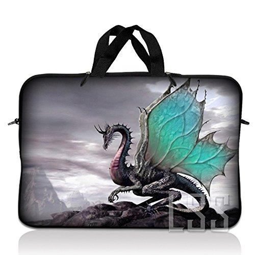 LSS 17 inch laptoptas draagtas met verborgen handvat voor 17,4