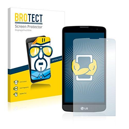 BROTECT Protector Pantalla Compatible con LG L Bello Protector Transparente (2 Unidades)...