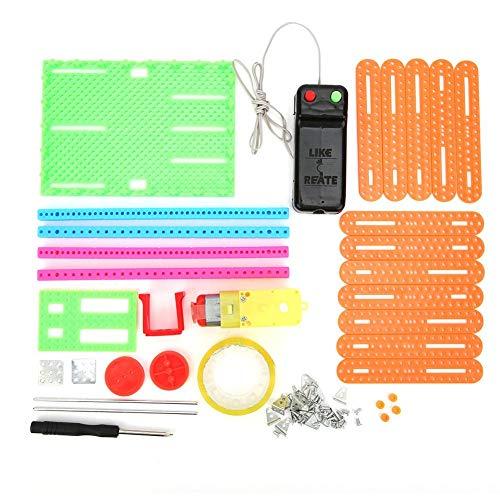 RC elektrisch rolluik speelgoed, gemonteerd educatief model Toy Science experimenteel educatief speelgoed Student DIY-uitvinding