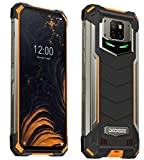 DOOGEE S88 Plus(6GB+128GB) Smartphone Resistente 10000mAh Batería, Cámara Cuatro 48MP, Octa-Core Android 10, 6.3'FHD+ Corning Gorilla Glass, Carga Inalámbrica, IP68 Teléfono Móvil Antigolpes Arancia