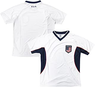 USA Soccer White Angled Panel 2014 Training Jersey