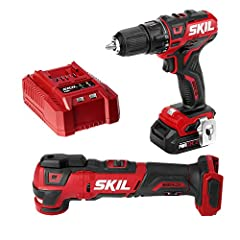 2 tool KIT—Cordless tool kit includes Brushless 12V 1/2 inch drill driver and oscillating multitool. Includes a PWR core 12 2. 0Ah Lithium battery and standard charger. Longer run time & battery LIFE—Industry leading PWR core 12 Lithium battery techn...