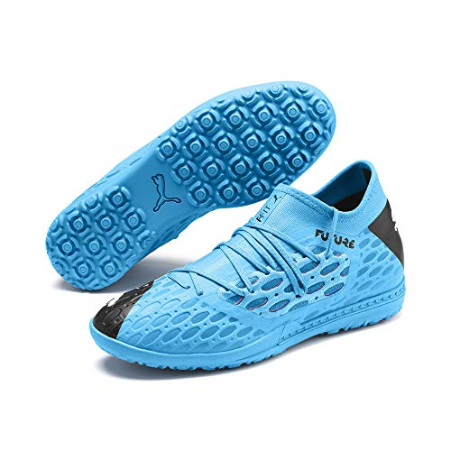 PUMA Zapatos de fútbol Future 5.3 Netfit TT para hombre, zapatos casuales, azul (Azul Luminoso/Nrgy Azul/Puma Negro/Rosa Alerta), 40.5 EU