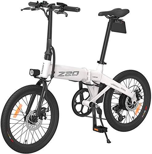 Bicicleta eléctrica de nieve, 48V 10.4AH Bicicletas eléctricas plegables para adultos Marco de aluminio plegables para adultos E-bicicletas e-bikes, frenos de disco dual Tres modos de ciclismo: pedal,