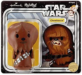 Hallmark ITTY BITTYS-Chewbacca- Star Wars- Limited Edition in Blister Pack