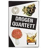 GOODS+GADGETS Drogen Quartett - Das ultimative Rauschgift Karten-Spiel Spielquartett Kartenspiele (Drogen Quartett)