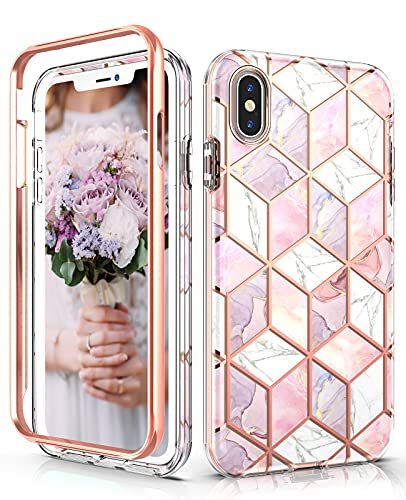 Hasaky Case for iPhone Xs Max Case 6.5 Inch,Dual Layer Hybrid Bumper...