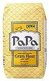 PA PA- Gram Flour - Harina de Garbanzo - Superfina - Producto Asiatico- 1 Kilogramo