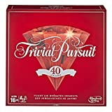 Trivial Pursuit E1923102 40th Anniversary Ruby Edition, multicolor, Versión Inglesa