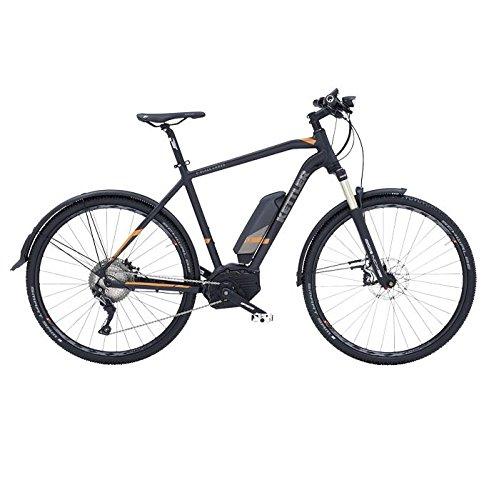 Kettler bike Bici elettrica E-Blaze Cross 28'' T. 50 11-velocità 500Wh CX Nero (Trekking Elettriche) / E-Bike E-Blaze Cross 28'' T. 50 11-Speed 500Wh CX Black (Trekking E-Bike)