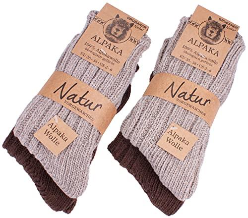 warmest alpaca socks