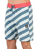 Volcom Men's Stripey Stone 19' Boardshort, Flight Blue, 40