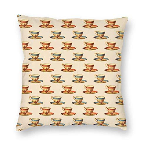 Fundas de almohada de lujo para raquetas de tenis y pelotas decorativas, fundas de cojín suaves, cuadradas, 45,7 x 45,7 cm