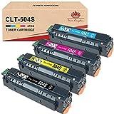 Toner Kingdom CLT-504S CLT-P504C Cartuchos de Tóner Compatible Samsung CLT-P504C 504S para Samsung Xpress C1860FW C1810W CLX-4195FW CLX-4195FN CLX-4195N CLX-4190 CLP-415NW (K504S,C504S,M504S,Y504S)