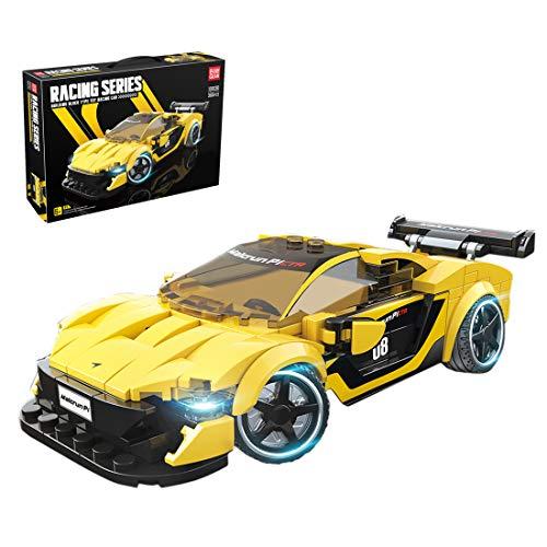 OviTop Technic Bausteine Auto Modell für McLaren P1, Konstruktionsspielzeug Kompatibel mit Lego - 366 Teile