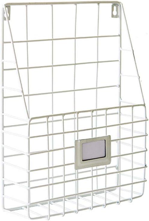 Desk File Racks Wrought Iron Rack Wall Magazin Bookshelf Storage Large Financial sales sale discharge sale