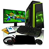 ADMI GAMING PC PACKAGE: 21.5 Inch 1080p Monitor, Keyboard, Mouse and Gaming Headset