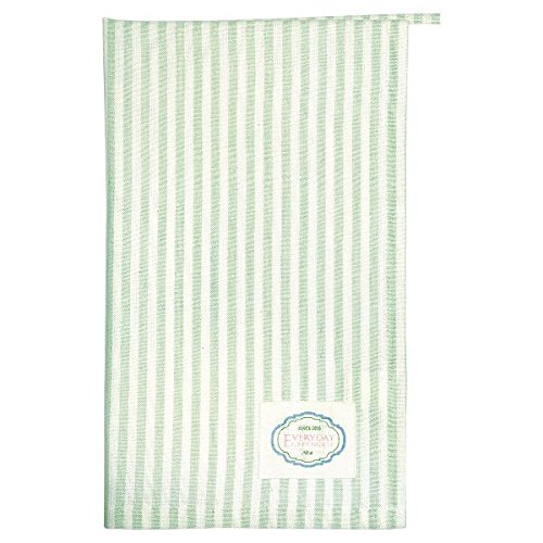 GreenGate -Geschirrhandtuch- Tea Towel - Alice Stripe Pale Green 50 x 70cm