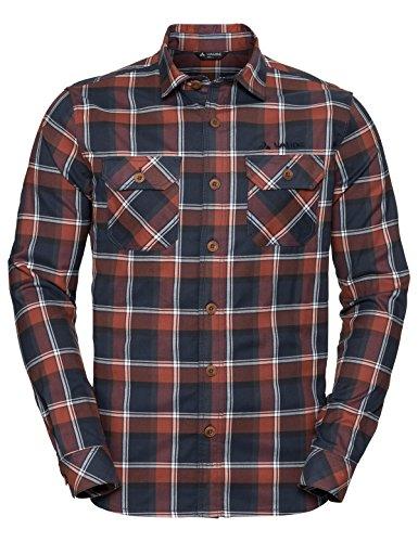 VAUDE Herren Jerpen II Hemd, Cherrywood, XL