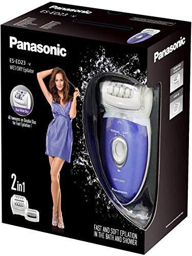 Panasonic ES-ED23-V503 Epilierer, 2 Geschwindigkeiten, Violett