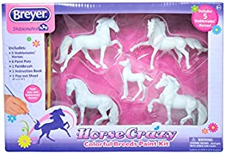 Horse Crazy Colorful Breeds Paint Kit Gear Art And Craft Toys, 2017 Christmas Toys