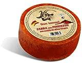 Queso de cabra curado con pimentón con aceite de oliva virgen 525 gr.