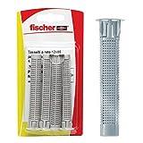 Fischer TRE60998 Tasselli a Rete FIS HK 12X85 K per ancorante Chimico (4 Pz.), Grigio, 12x85 mm